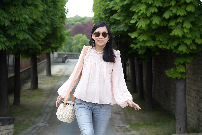 petite and so what - premier rayon de soleil - top Zara