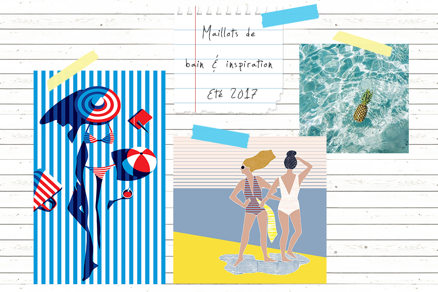 Petite and So What - inspiration ete - selection maillots de bain 2017