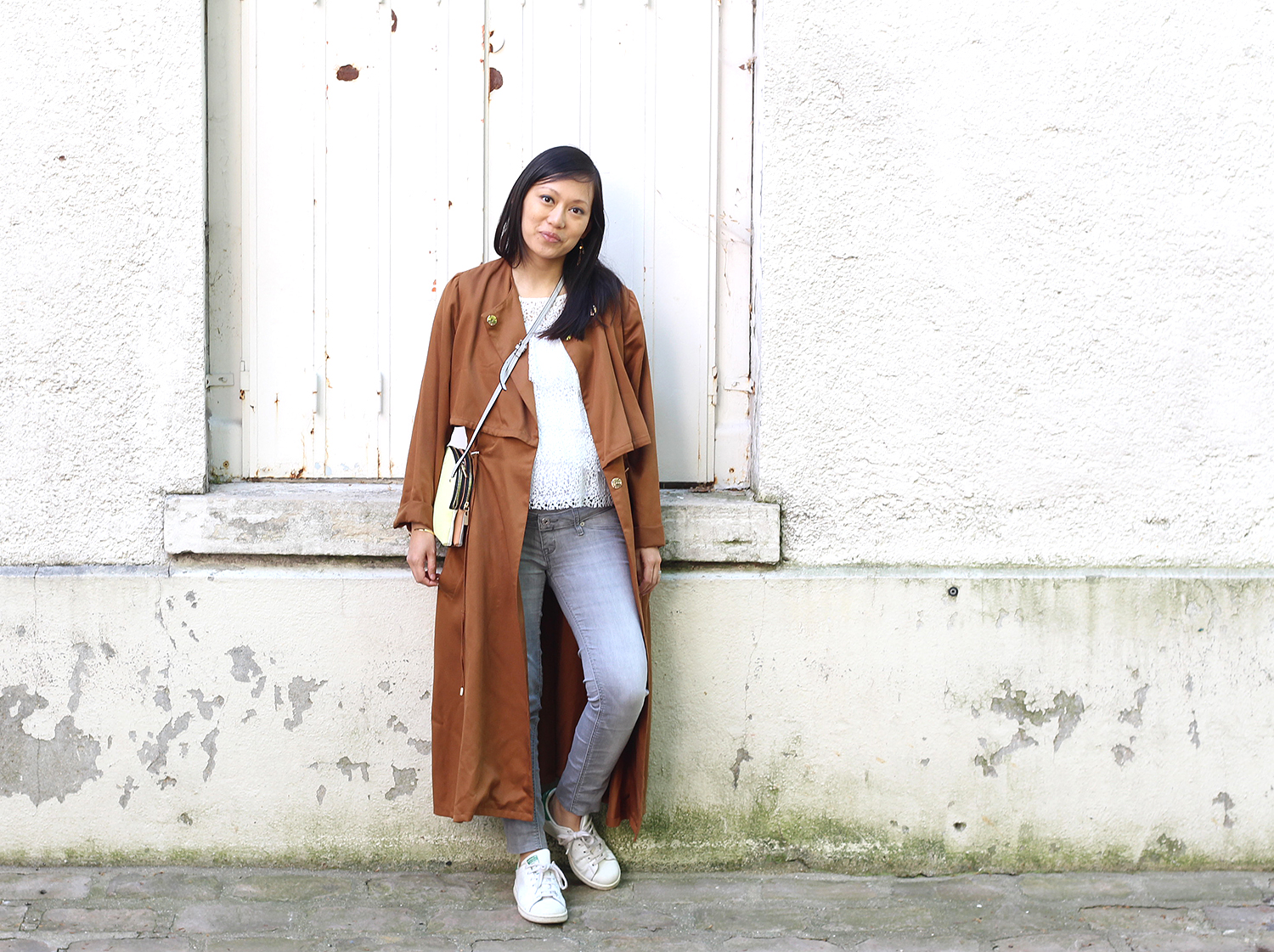 Petite and So What - trench long Sinéquanone