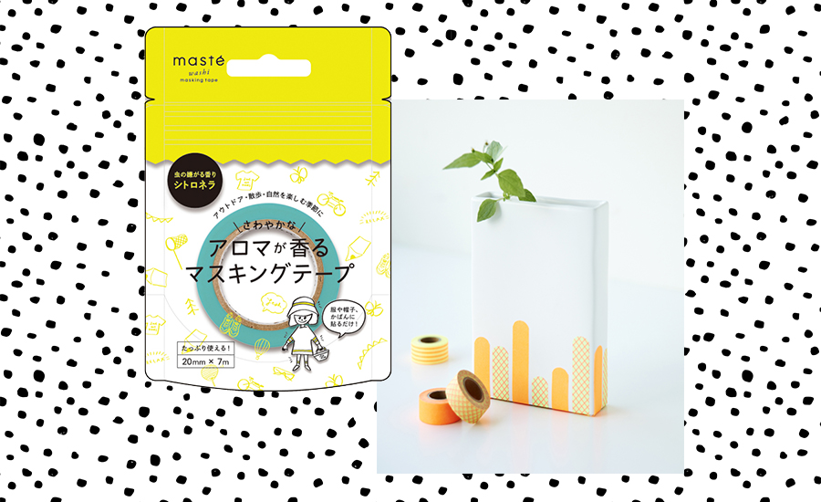petite and so what - masking tape maste a la citronnelle anti moustique 2