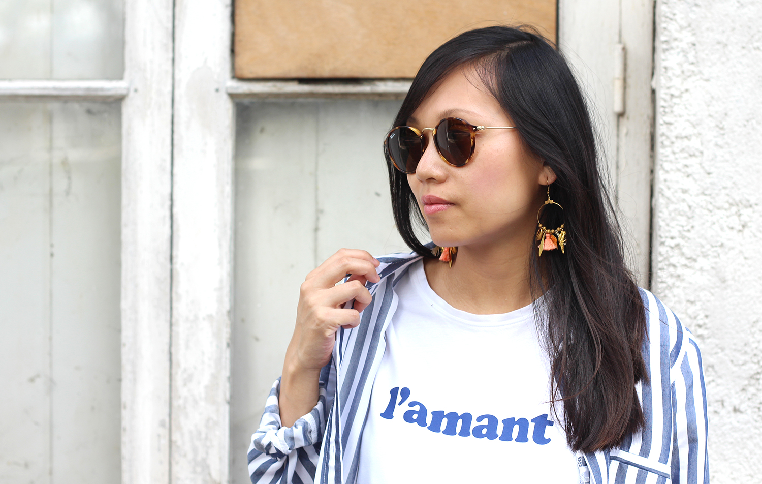 petite and so what - tee shirt l amant sezane