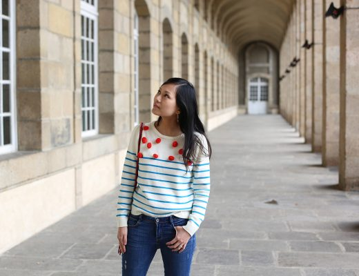 petite and so what - pull pompons collaboration monoprix manoush