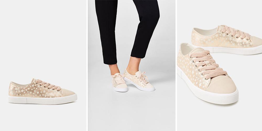 petite and so what - sneakers imprime etoile Esprit