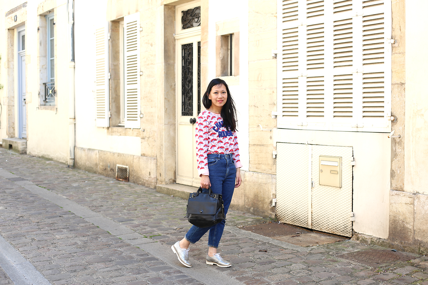 petite and so what - sweat chateau rouge x monoprix collaboration 4