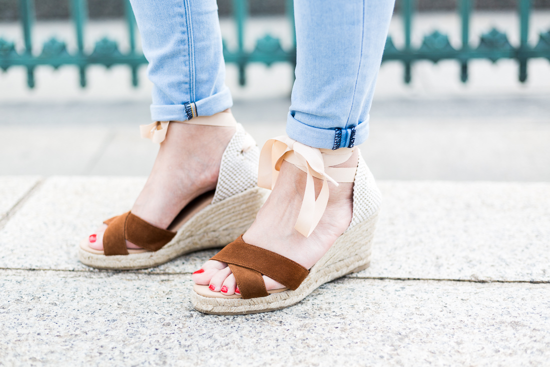 Petite and So What - Welenz Charlotte Deckers - espadrilles Betty London taille 35